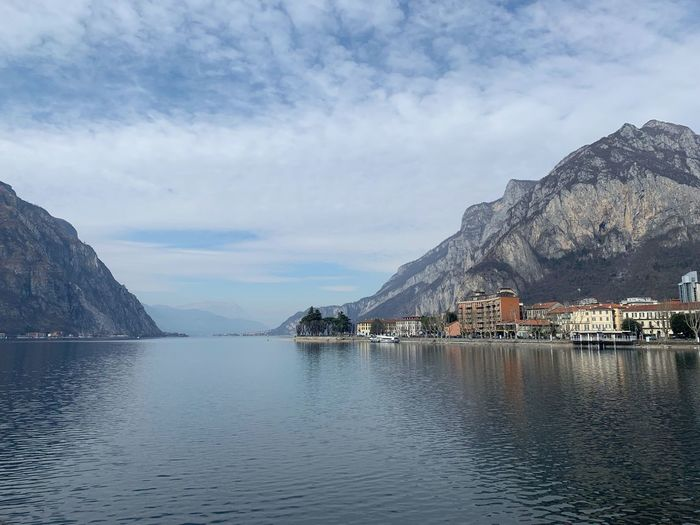 Como Como Lake EyeEm Selects Water Sky Cloud - Sky Architecture Building Exterior Built Structure Waterfront Beauty In Nature Sea Building Day No People City Tranquility Tranquil Scene Scenics - Nature Mountain Nature Outdoors
