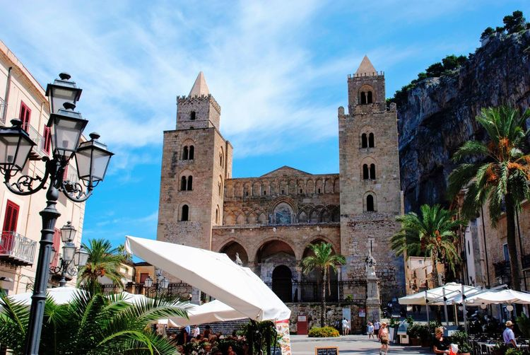 Main Square Cathedral Church Cefalu  Architecture Sicilia Sicily Italian Italy Architecture Building Exterior Built Structure Building Sky Place Of Worship Religion Cloud - Sky Outdoors
