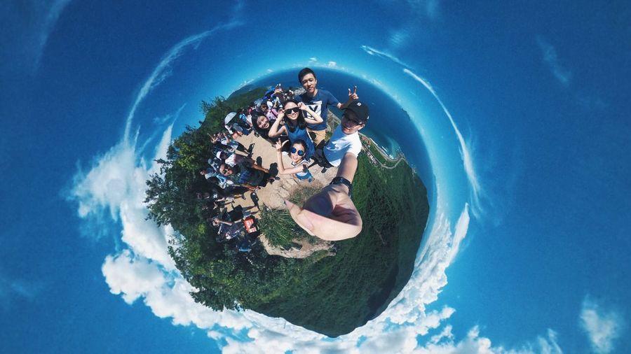 很久沒出場的360😅 Theta360 360° Earth