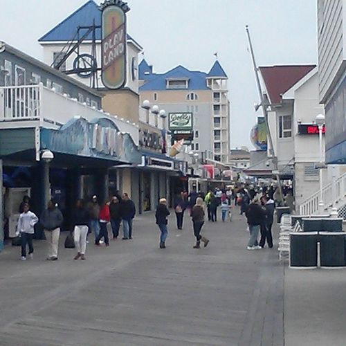 OCBoardwalk is clear sailing today, will we need our cross country skis tomorrow? Ocmd