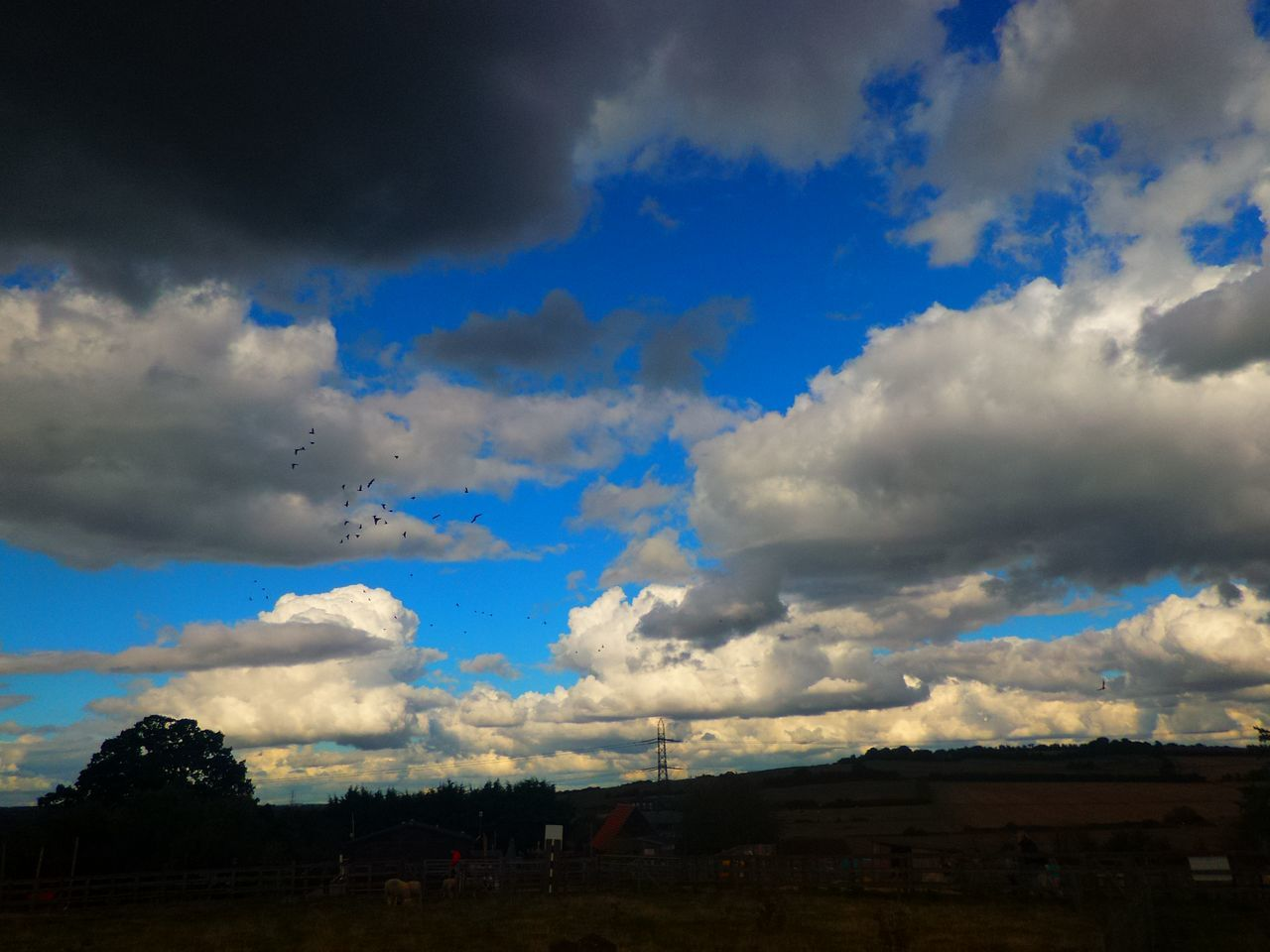 cloud - sky, sky, nature, no people, beauty in nature, scenics, outdoors, day, blue, building exterior, architecture