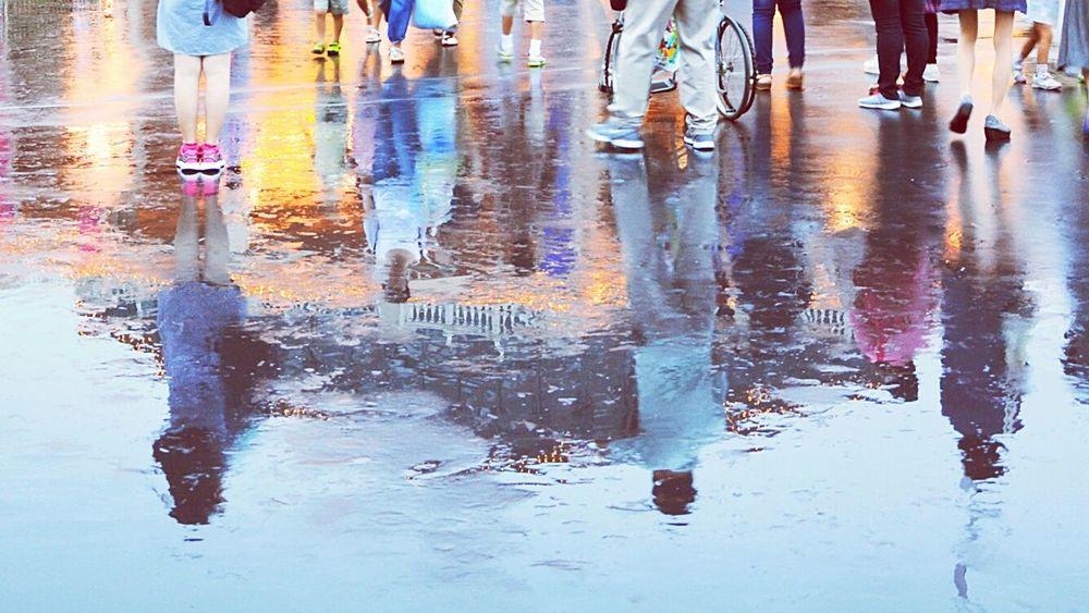 Summer 2015 Taking Photos Rany Day Water Reflections LL cool J/Paradise