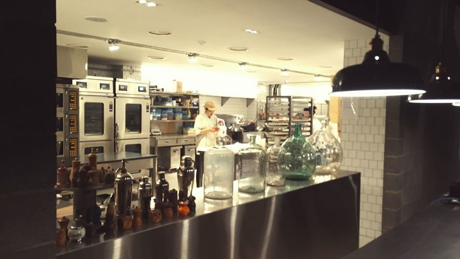 Indoors  Food And Drink Convenience Reflection Freshness Illuminated Modern Kitchen Utensil Large Group Of Objects Faucet Interior TERAROSA Iphonse