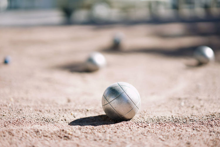 Petanque Close-up Boules Boules Pétanque Ball Selective Focus No People France