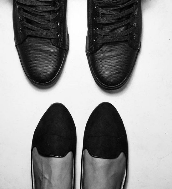 His & Hers ❤️ Weekend Hisandhers Shoes Sootd Weekendvibes Blackandwhite Style Fashion Trends Love Fridaynight Flatlay Datenight Southafrica Instagood Photooftheday Follow Instadaily Instalike Igers