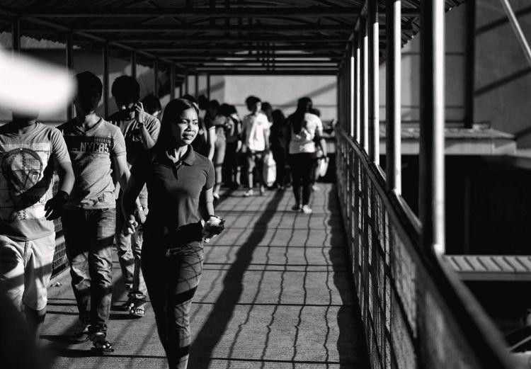 Cagayan De Oro City People Streetphotography Streetlife Philippines CagayandeOroCity Photowalk Mindanao Emotion Monochrome Blackandwhite Blackandwhite Photography Longwalk Human People Teamwork Men Sportsman Full Length Togetherness
