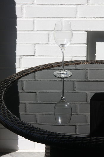 Close-up of electric lamp on table