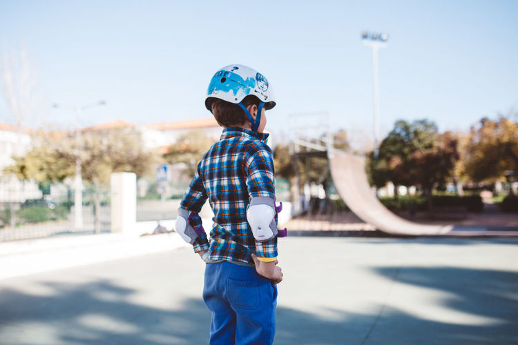 Blue Casual Clothing Children Children Photography Helmet Kids Kids Having Fun Kids Photography Kids Playing Rollerskating