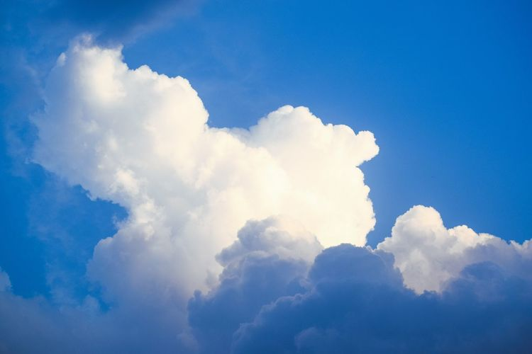 Blue Sky Close-up Cloud - Sky Cumulus Cloud Sky Only Heaven Abstract Backgrounds Abstract Layered My Best Photo The Great Outdoors - 2019 EyeEm Awards