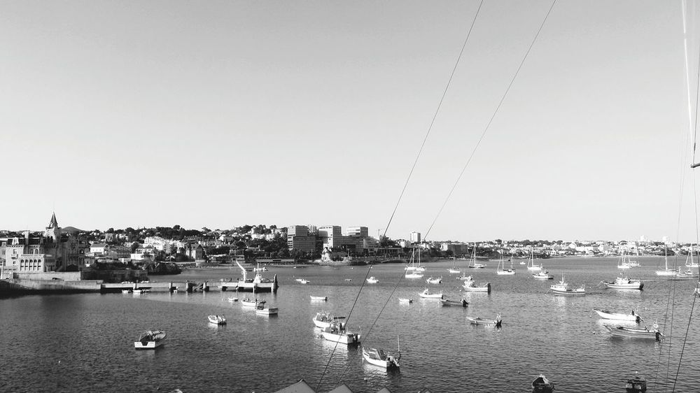 Great View... Cascais City old fisherman village... EyeEm Best Shots - Black + White Eyeemphotography ¡Eyeem Addict! EyeEm Bnw EyeEm Gallery Walking Around Monochrome Taking Pictures Taking Photos Taking Photos ❤