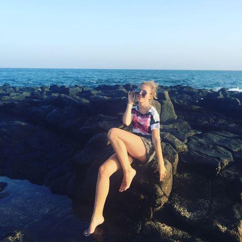 Sun Myself Sea Holidays 🙈 First Eyeem Photo