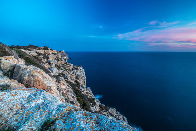 2016_03_Mallorca_ES Cabrera Cliff Cliffside Coastline Golden Hour Landscape Landscape_photography Landscape_photography Landscapes With WhiteWall Lighthouse Long Exposure Mallorca Mediterranean  Mediterranean Sea Ocean Sea Seascape Sunset Landscape With Whitewall Landscape Whit Whitewall The KIOMI Collection Blue Wave