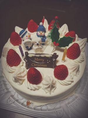 んー😋 Xmas Cake Merry Christmas