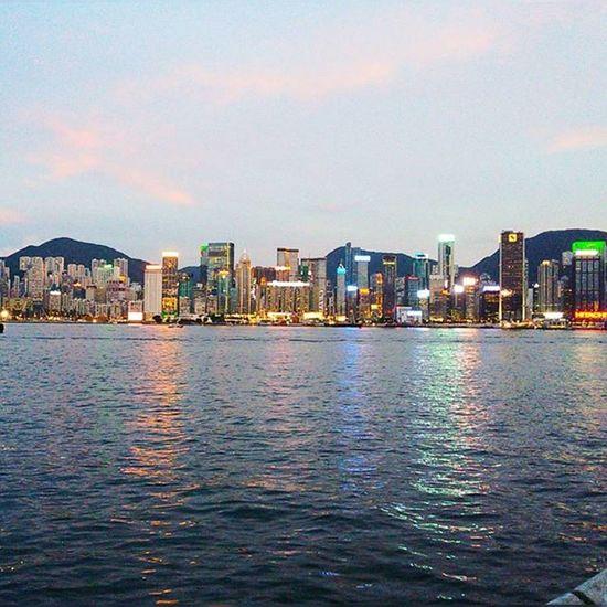 Боже, какой же там вид был😍😍💙 Гонконг