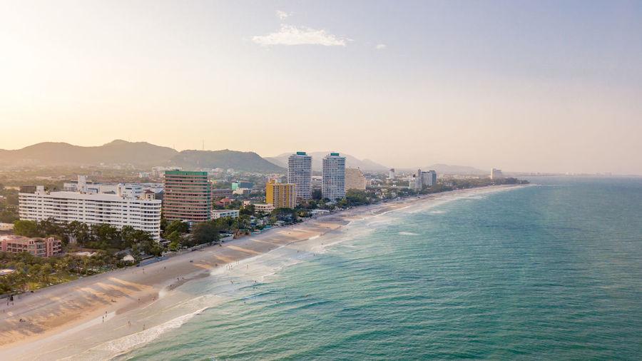 Sea view beach