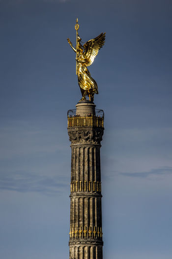 Famous Place Monument Siegessäule  Siegessäule Berlin Tall - High Tourism Travel Destinations Victory Column Berlin