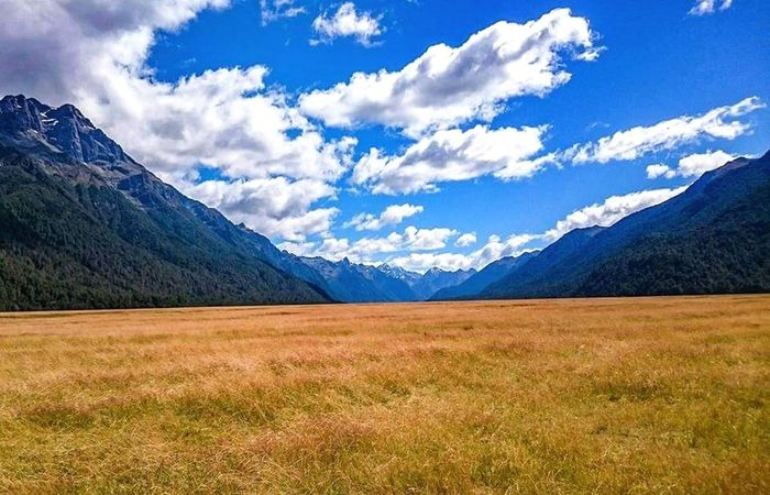 Mountains And Sky Wild Nature Magic New Zealand Traveling Landscape Scenics Outdoors Nature Blue Day Beauty In Nature No People Sky Fieldscape