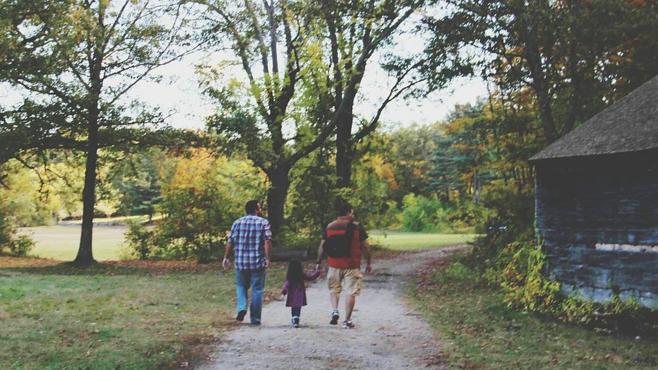 Me, my brother and my niece. My sister in law took the picture! Massachusetts USA Autumn Niece  My Brother  Autumn Colors United States Autumn Collection Autumn Trees Portrait Family