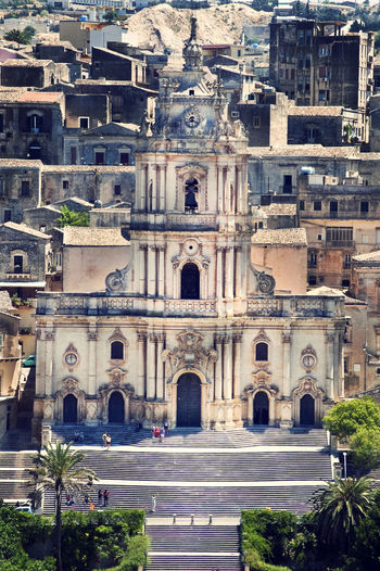 Arch Architecture Building Exterior Built Structure Church Churches City Day Exterior Front View History No People Outdoors Place Of Worship Religion Sicily Spirituality Stairs Travel Destinations The Architect - 2017 EyeEm Awards