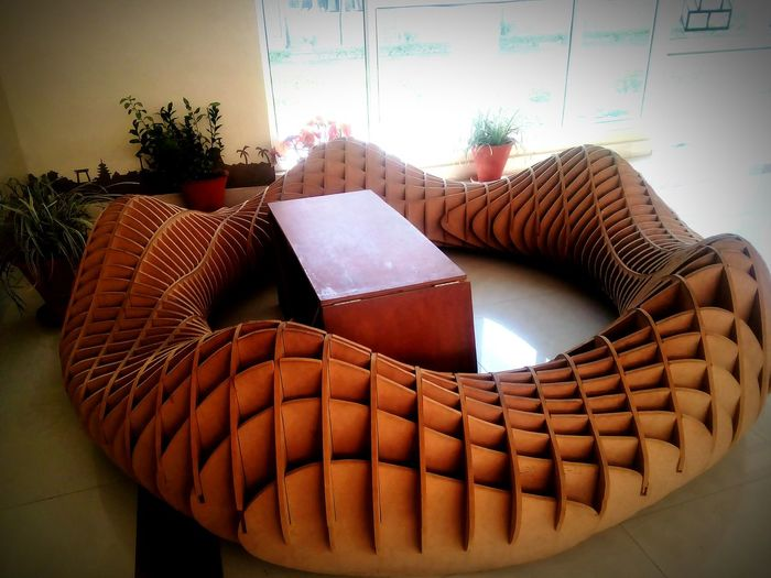 Showcase April Wodden Texture handcraft by Architect Engineers At NIT Hamirpur