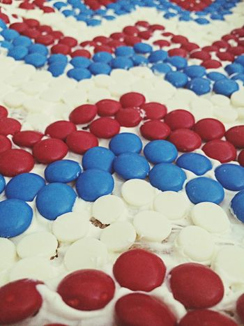 USA 4th Of July Independence Day Cookie Cake