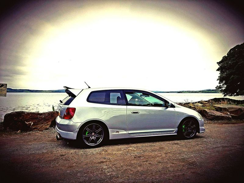 what a car Civic Civic Type R Ep3 Type R Honda Water Beach Sea Car Land Vehicle Sky Horizon Over Water Shore Calm Coastline