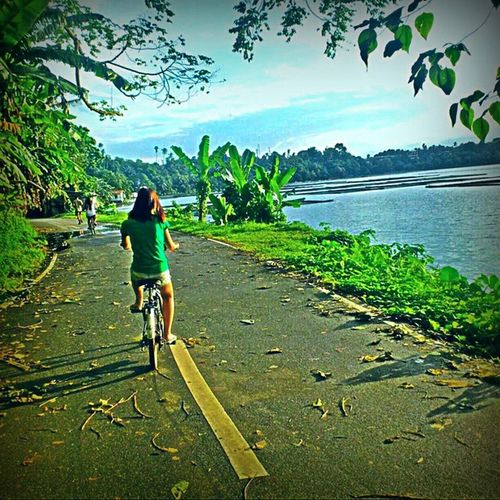 Learn to ride a bicycle. You will not regret it if you live. ????? Naturetripping Ridingabicycle Philippines Memories outoftown