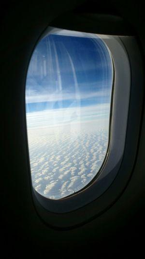 Aerial Shot Summer2015 Over The Clouds über Den Wolken Muss Die Freiheit Wohl Grenzenlos Sein Over The Atlantic On The Way Home Bye Gran Canaria