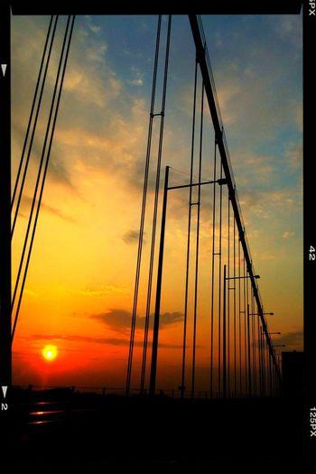 Holiday Travel Enjoying Life 旅の最後は関門海峡の綺麗な夕陽(≧∇≦)?綺麗ぢゃった❗️
