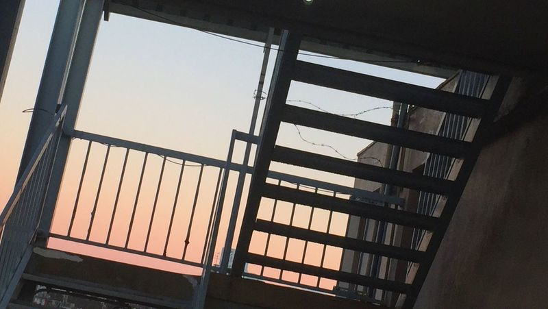 IPhoneography Good Morning おはよう 朝空 薄明 Gradation