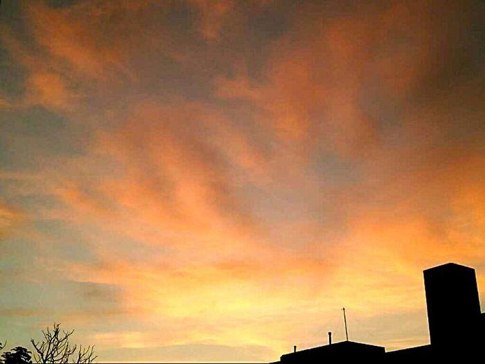 Sunset Cloud - Sky Sky Nature Cityview