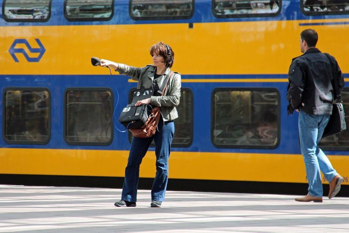 People Decibel Central Station Rotterdam