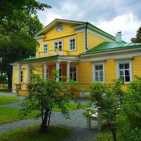 Aristocratic Mansion Historical Building History Great Russian Poet Russian Poet Pushkin  Architecture