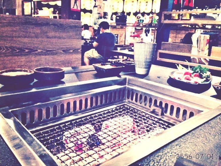 BBQ Yummy Enjoy Eating