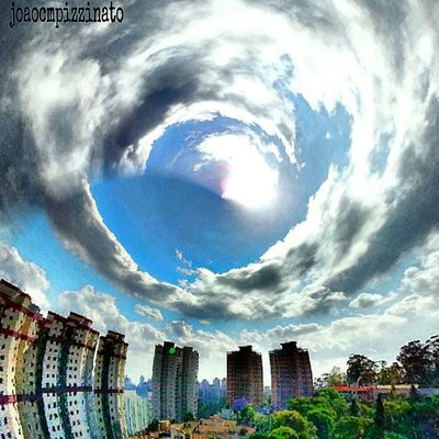 Tiny Planet FX. Tinyplanetfx Colors Effect Edited city zonasul saopaulo brasil photography fortheloveofediting