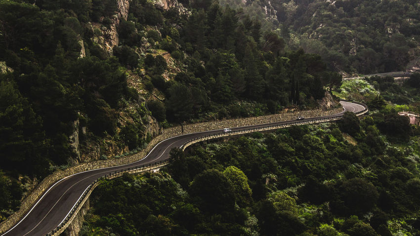 The road. Long Goodbye Canon Canon1200d Canonphotography Canonphoto Transportation High Angle View Traffic Motion Highway Mode Of Transport Speed Illuminated Curve Winding Road Car Driving Tree Outdoors Road Sardegna Italy Contrast 18-55mm EyeEm