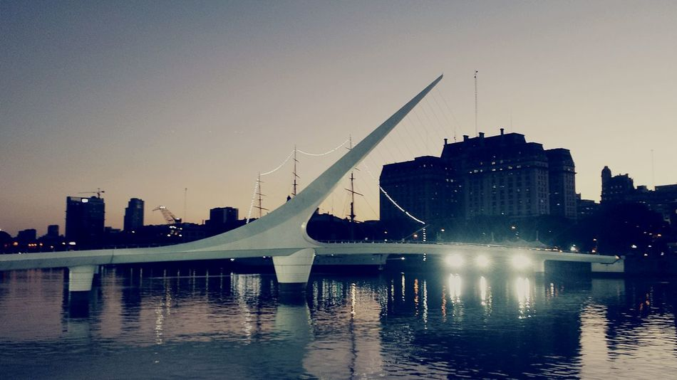 Relaxing Puentedelamujer Sunset Puerto Madero Baires