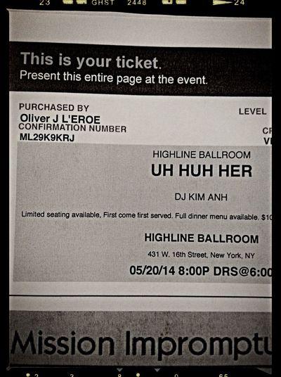 UH HUH HER Press-Pass Leroe24fotos.com Highline Ballroom