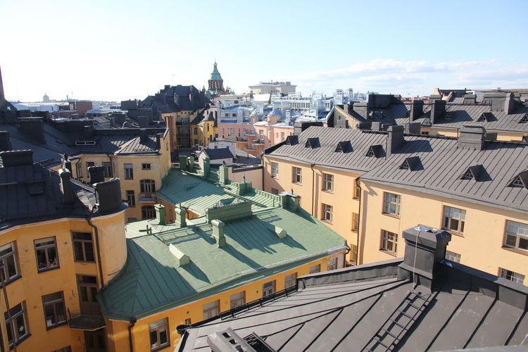 Architecture Built Structure Day Finland Helsinki Katajanokka No People Outdoors Sky