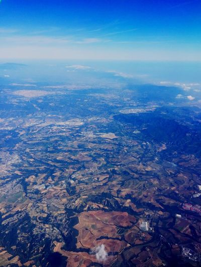 Landscape Aerial View Beauty In Nature Sky Mountain Nature