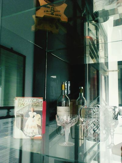 Indoors  No People Art Deco Style Bling City Streets  City Streets  Store Window Wine Moments Glass - Material