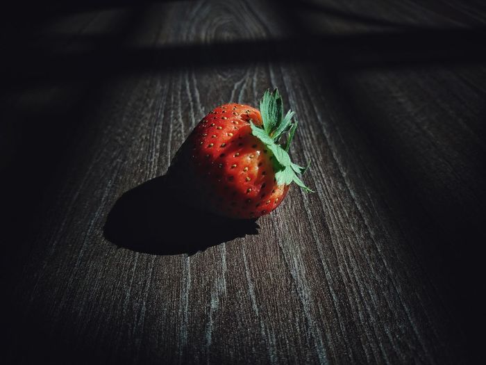 EyeEm Best Shots Eyeem Philippines Fruit EyeEm Best Shots EyeEm Selects Low Key Low Key Photography Lights And Shadows Lights And Shades Mobile Photography Sony Xperia Xz Black Background Red Close-up Sweet Food Strawberry Berry Fruit