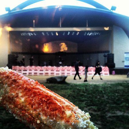 Summer Concert Series & my elote <3 MacArthurPark FreeConcert Elote