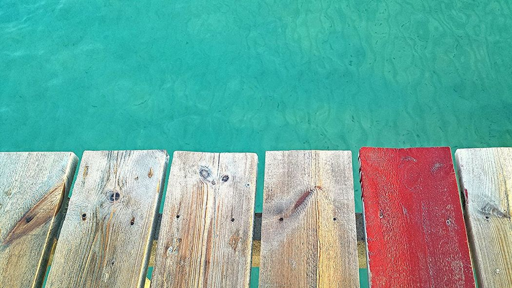 Holiday Travel Port D'Alcúdia Viewpoint Jetty Water Sea Wood Colours Nature Impact Nikon Nikon D7000 EyeEmBestPics