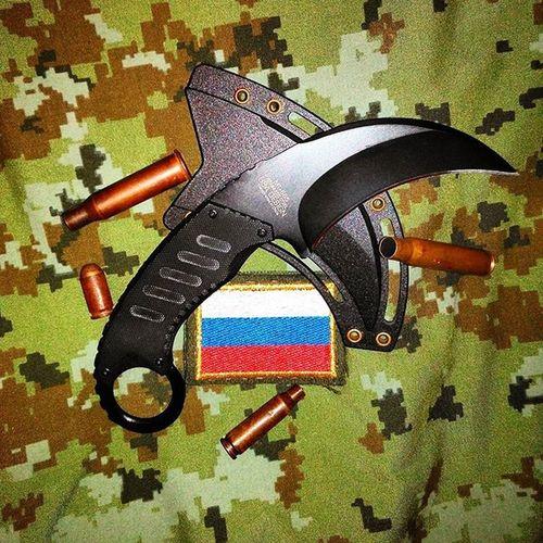 Knife Kerambit Mil Military Army Russia Rus Putin Kadyrov