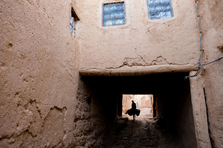 Atlas Moroccan Landscape Morocco Rural Silhouette Traditional House Architecture Atlasmountains Building Exterior Clay Clay House Donkey Landscape Mountains One Animal One Man Only Outdoors Rural Landscape Rural Scene Shadow Travel Destinations