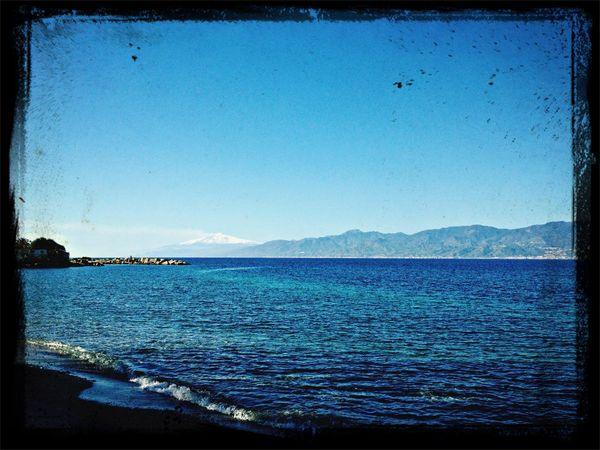 Landscape Sea Sky Sicily