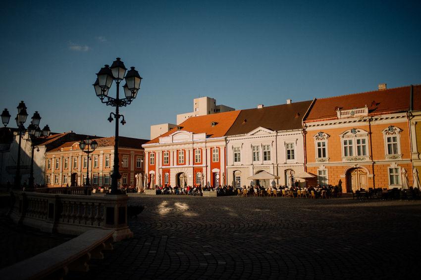 Romania Square Timisoara Timisoara, Romania Architecture Plaza Trg