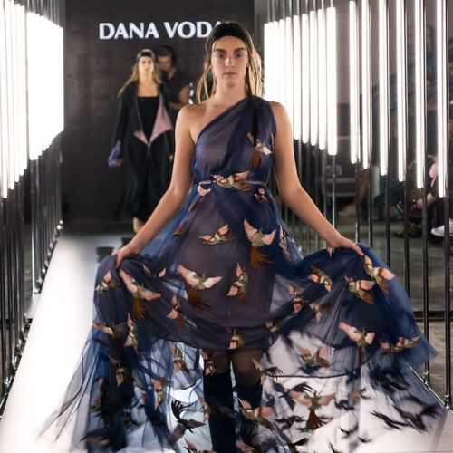 Fashionlive SLOVAKIA 2017 DANA & BORIS HANEČKA HANEČKA VODA & BORIS HANEČKA EyeEm Selects Fashion Fashionlive Lifestyle One Woman Only Only Women People Citylife Eyemphotography Eyemfashion Design