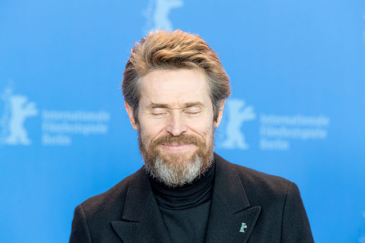 Berlin, Germany - February 20, 2018: Honorary Golden Bear Winner Willem Dafoe poses at the Hommage Willem Dafoe photo call during the 68th Berlinale International Film Festival Berlin at Grand Hyatt Hotel AWARD Actor Actors Awards Fame Famous Film Festival Photocall Press The Media Willem Dafoe Willem Defoe Actor♡ Berlinale Berlinale 2018 Berlinale2018 Film Industry Mass Media Media One Person People Photo Call Popular Portrait Posing